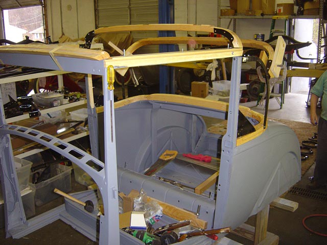 1929 Ford Model A Coupe Restoration