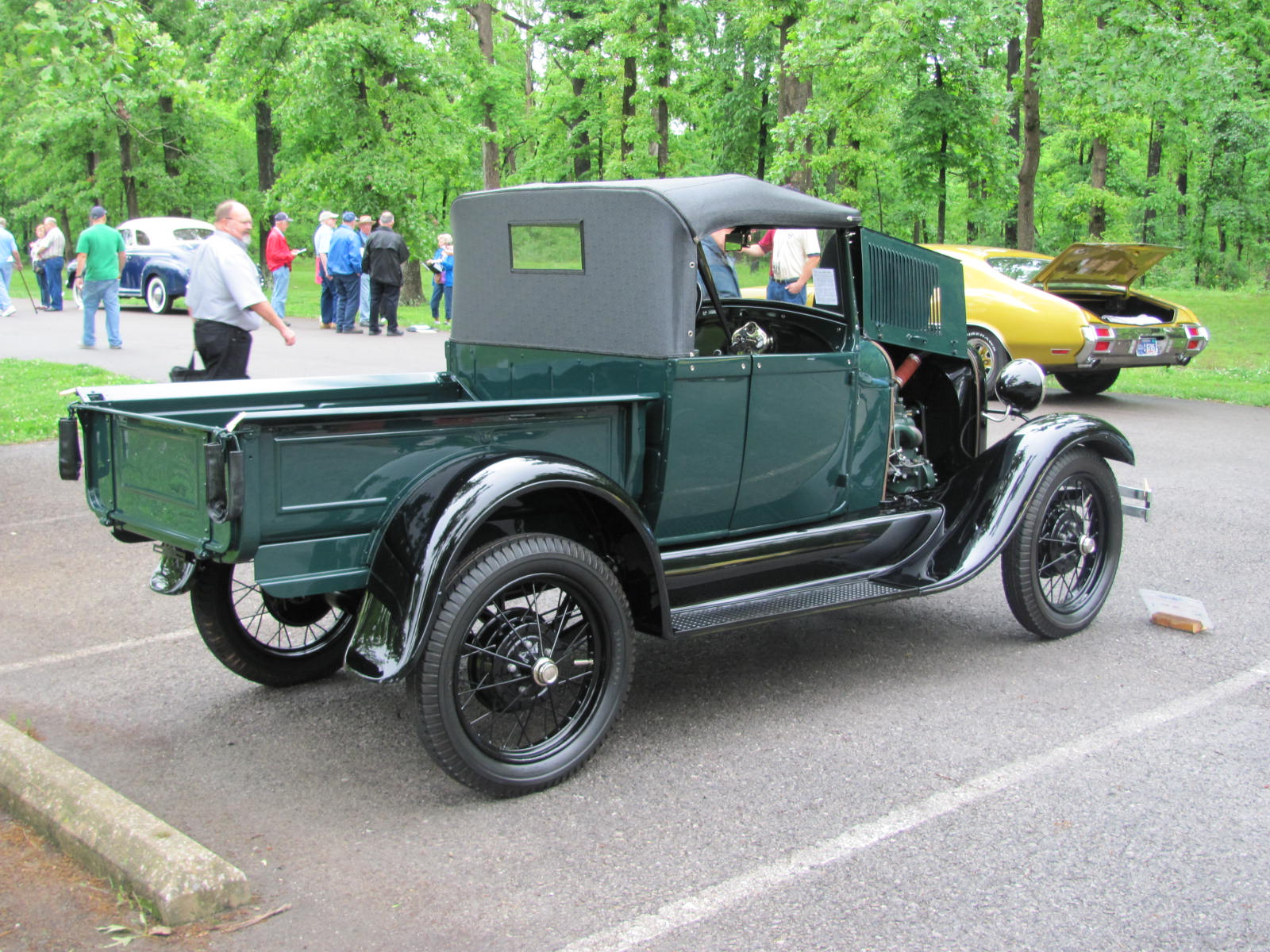 1928 Model A Ford Pick-up by B. Terry Model A Ford Restoration