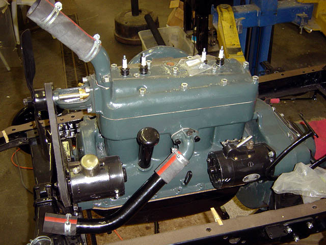 model a ford engine