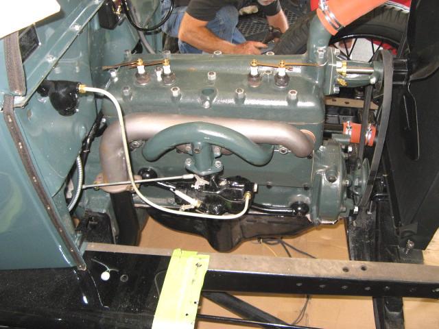 1929 model a ford tudor sedan by b terry model a ford for Model a motor mounts